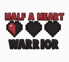 Half A Heart Warrior - Minecraft T-Shirt by ItsImpulseYT