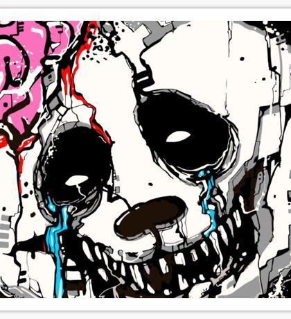 Misfit Panda Sticker