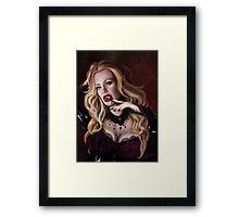 Pam de Beaufort of True Blood Framed Print