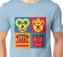 Happy Town Faces 2 Unisex T-Shirt