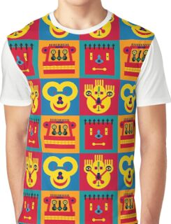 Happy Town Faces 2 Graphic T-Shirt