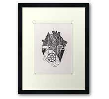 Lead me there Framed Print