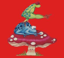 Leap Frog On a ToadStool Kids Tee
