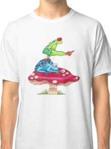 Leap Frog On a ToadStool Classic T-Shirt