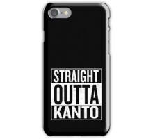 Straight Outta Kanto iPhone Case/Skin