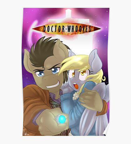 Doctor Whooves and Assistant  Poster