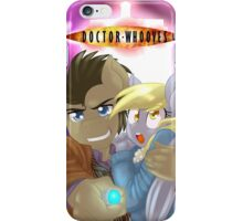 Doctor Whooves and Assistant  iPhone Case/Skin