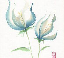Blue flowers B by Saph