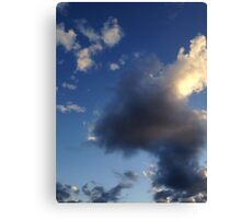 cloud-i Canvas Print