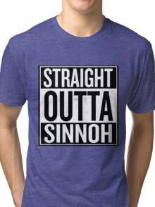 Straight Outta Sinnoh Tri-blend T-Shirt