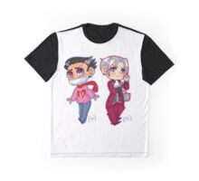 College Pheen and Rookie Miles Graphic T-Shirt