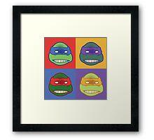 TMNT PoP Framed Print