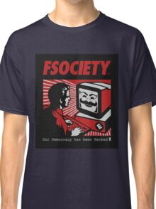 MR ROBOT - FSOCIETY Classic T-Shirt