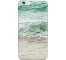 Ocean wave on the beach iPhone Case/Skin