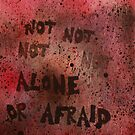 Not Alone Or Afraid by Lindsay Layton