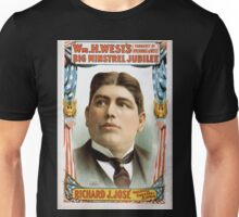 Performing Arts Posters Wm H Wests Big Minstrel Jubilee formerly of Primrose West 1754 Unisex T-Shirt