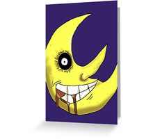 Soul Eater Moon Greeting Card
