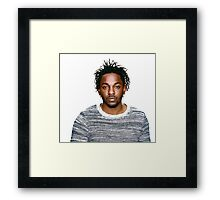 In love with Kendrick Lamar Framed Print