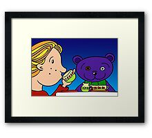A Tea Party for the Gents Framed Print