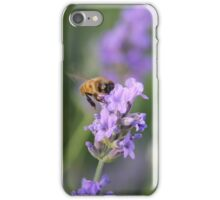 Lavender and a Bumble Bee iPhone Case/Skin