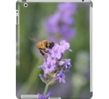 Lavender and a Bumble Bee iPad Case/Skin