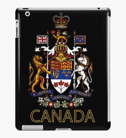 Coat of Arms of Canada iPad Case/Skin