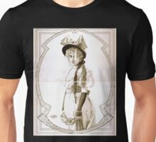 Performing Arts Posters Woman in bowed hat and gloves 1828 Unisex T-Shirt