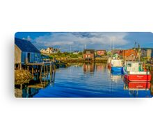 Peaceful Evening at Peggys Cove Canvas Print