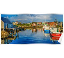 Peaceful Evening at Peggys Cove Poster
