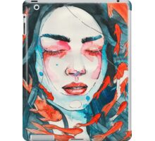 Only here for a minute iPad Case/Skin