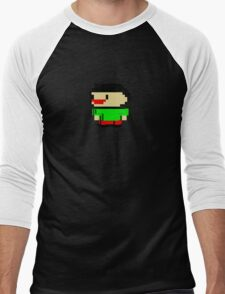 David's Manyland Character Men's Baseball ¾ T-Shirt