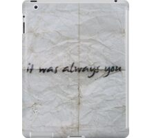 In Your Shadow iPad Case/Skin