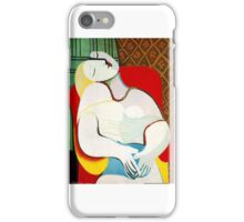 Dream in the style of picasso - 3 iPhone Case/Skin
