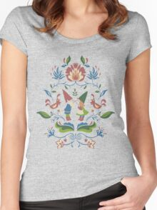 Gnome Love Women's Fitted Scoop T-Shirt