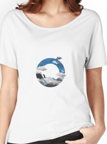 A circle of mountain and sea Women's Relaxed Fit T-Shirt
