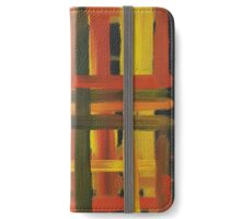 Warm Grid iPhone Wallet/Case/Skin
