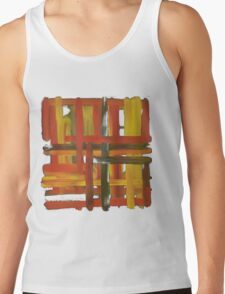 Warm Grid Tank Top