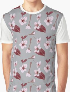 Blossoms Blowing Graphic T-Shirt