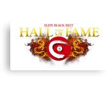 Seieido Elite Hall of Fame Shirt Canvas Print