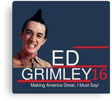 ED Grimley 2016 Canvas Print