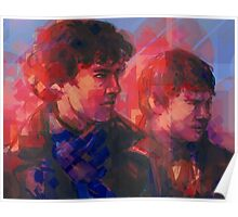 Sherlock - With John Poster