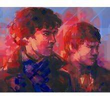 Sherlock - With John Photographic Print