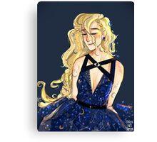 Luna Couture  Canvas Print