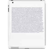 Drunk History of Fall Out Boy iPad Case/Skin