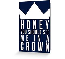 Jim Moriarty Quote Greeting Card