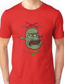 Me go face? Unisex T-Shirt