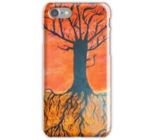 Ink tree (Cross-section) iPhone Case/Skin