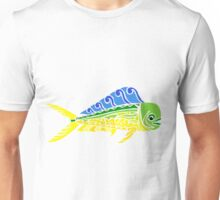 Mani Mahi Tribal Design - Colored Unisex T-Shirt