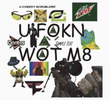 U FOKN WOT M8 MLG Montage Parody by TechnoKhajiit