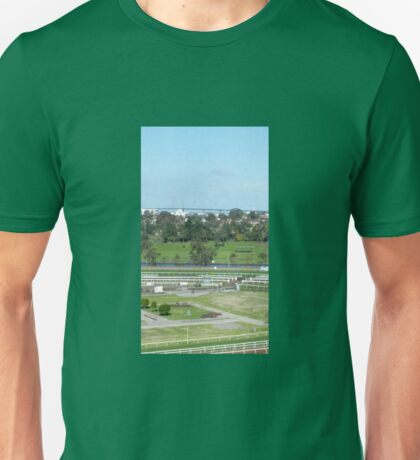 THE RIVER AND THE BRIDGE Unisex T-Shirt